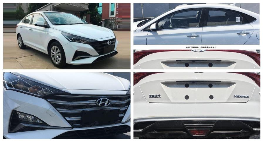 Внешний вид обновленного Hyundai Solaris раскрыли раньше времени