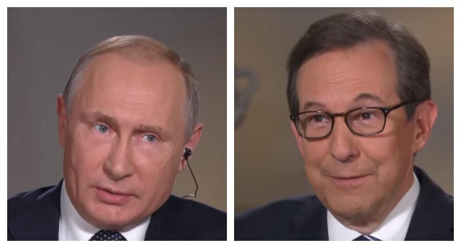 Интервью с Путиным номинировано на «Эмми»