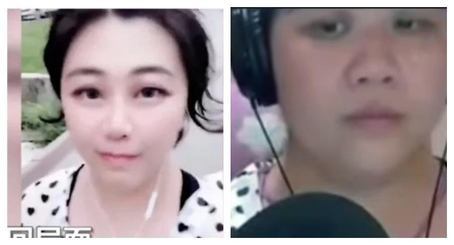Популярная китайская красавица оказалась 58-летней женщиной