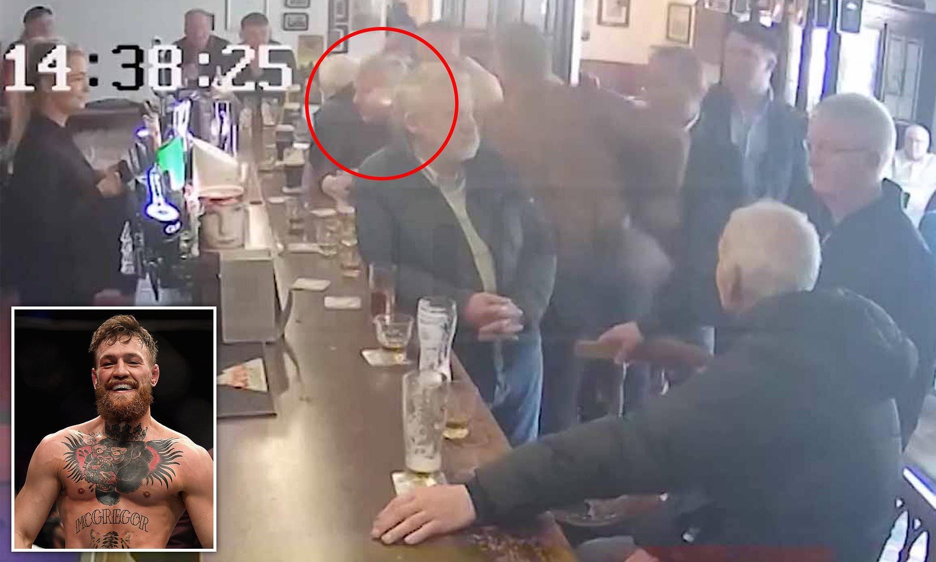 Cтало известно, почему Конор Макгрегор ударил пожилого мужчину в баре