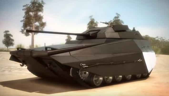 """Израиль представил """"умный"""" танк"""