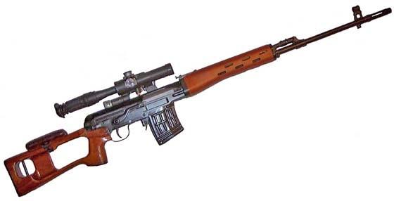 Советская винтовка СВД названа одной из лучших в мире