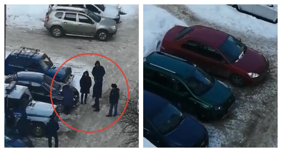 В Уфе пьяная женщина повредила ключами 13 машин