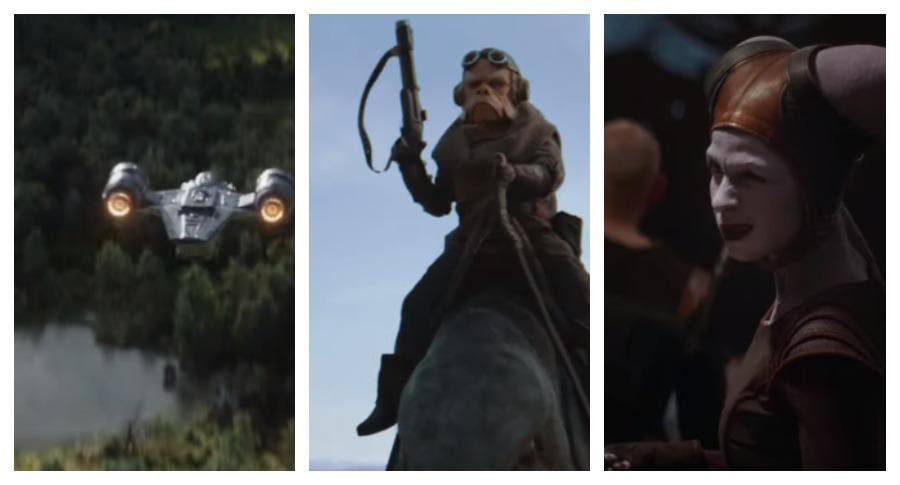 В Сети появился трейлер нового телесериала о «Звездных войнах»