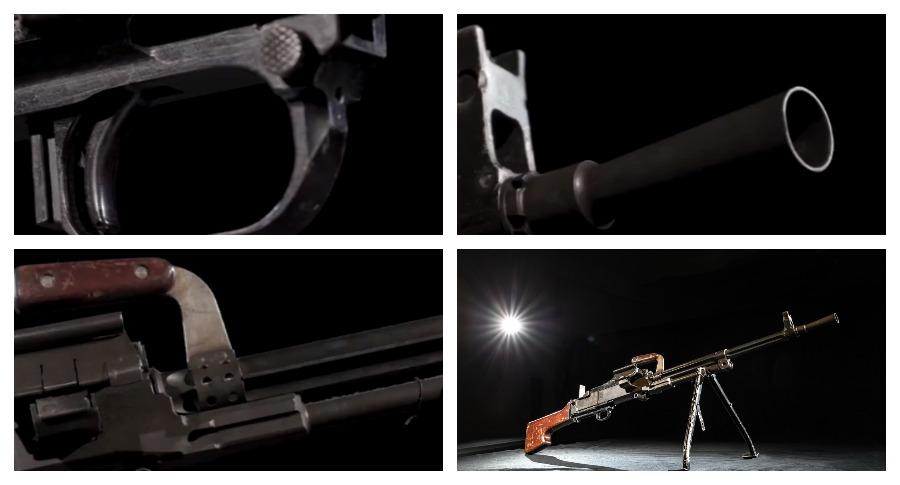 В Сети было опубликовано видео раритетного пулемета ТКБ-464 Силина-Перерушева