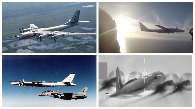 Британские самолёты были подняты в воздух по боевой тревоге для перехвата русских Ту-142