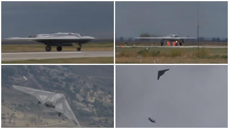 Видео: Российская армия испытала дрон «Охотник»