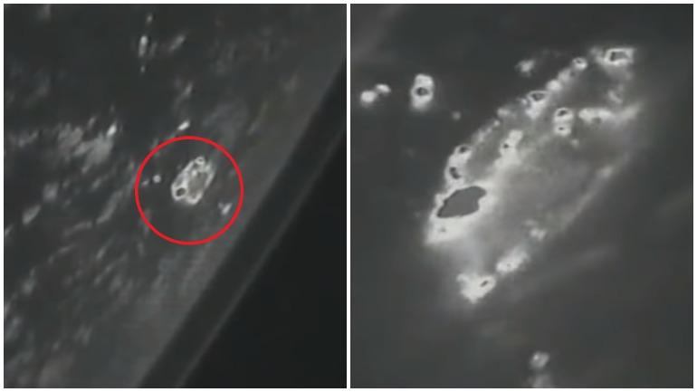 NASA опубликовала видео из космоса с НЛО