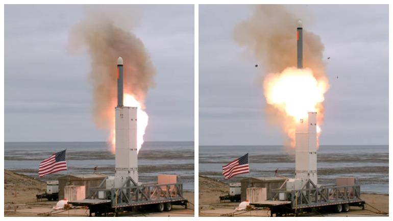 Появились доказательства испытаний Пентагоном запрещенных ракет