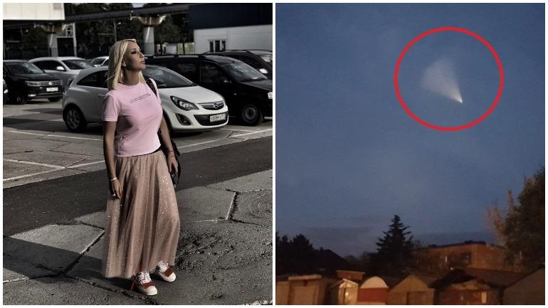 Лера Кудрявцева увидела НЛО в небе над Сочи