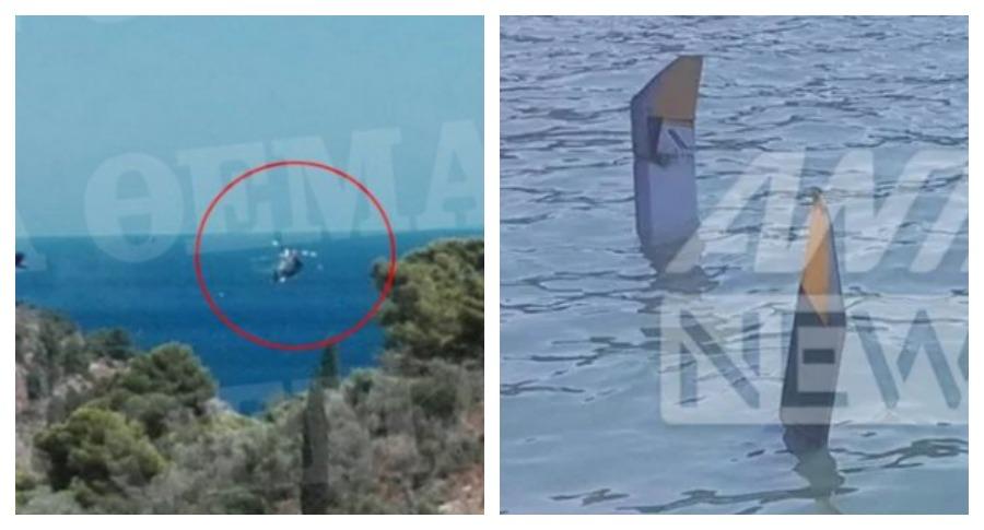 В Греции при крушении вертолёта погибло двое россиян