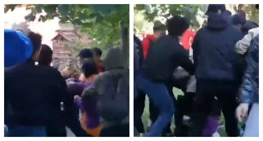 В Казани произошла массовая драка в очереди за кроссовками