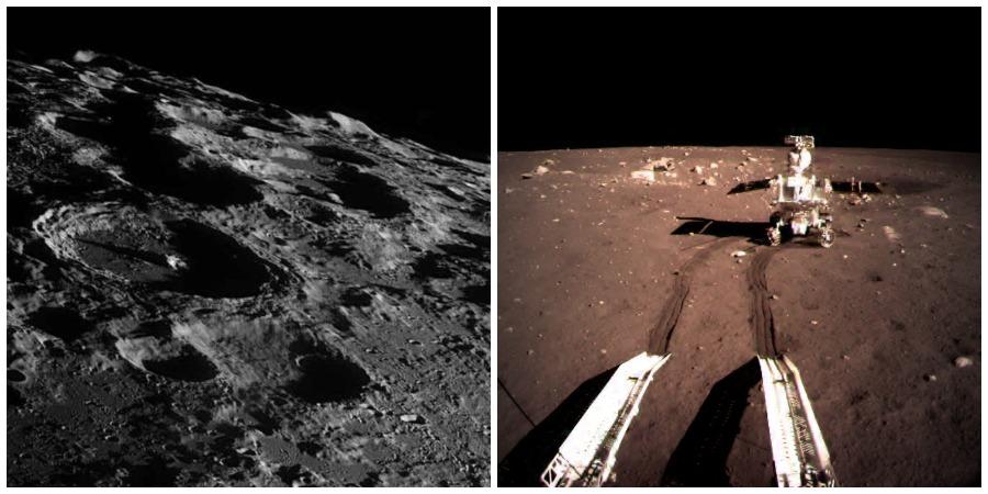 серия японский спутник сделал фото лунных миссий люблю