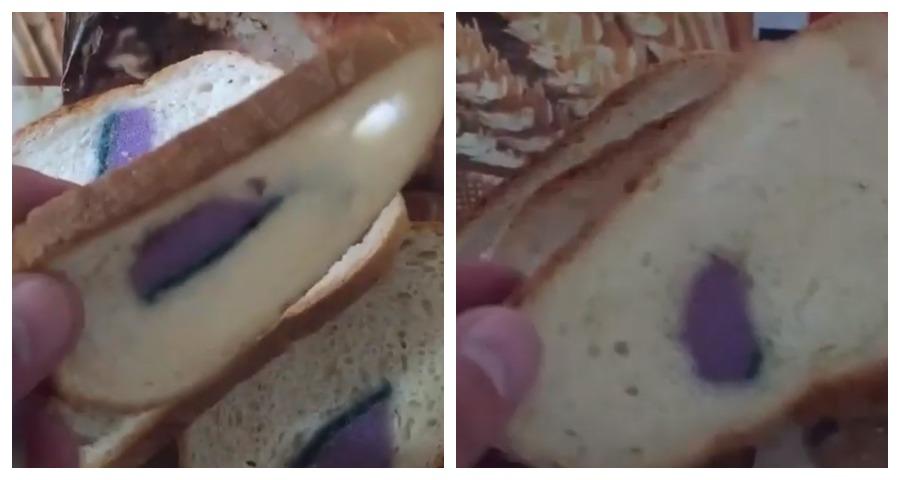 Подмосковный покупатель нашёл хозяйственную губку в батоне хлеба