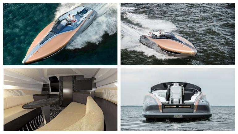 Lexus показал свою первую серийную яхту