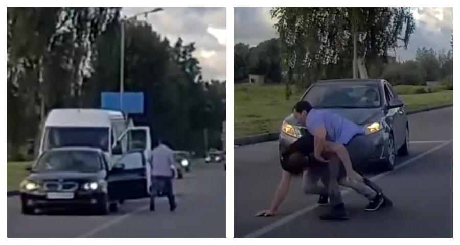 В Калининграде между собой подрались два водителя