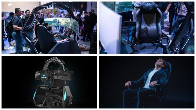 Acer представил новую версию геймерского кресла за 14 тысяч долларов