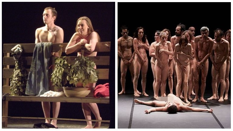 Зрители Челябинска шокированы обнажёнными женщинами на сцене театра