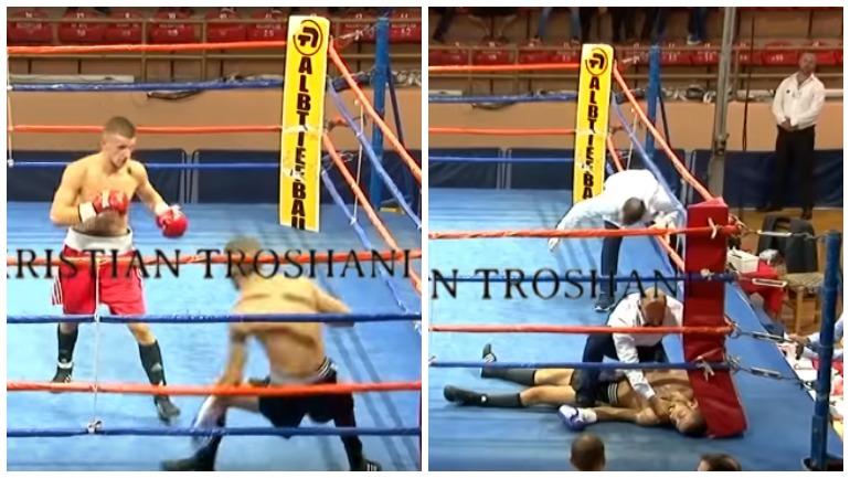 Во время боя умер боксёр, выступающий под чужим именем