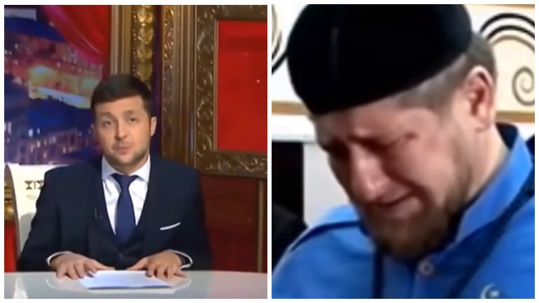 Стало известно об извинениях Владимира Зеленского перед главой Чечни