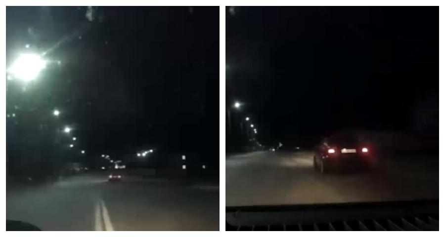Видео погони за пьяным водителем BMW в Барановичах выложили в сеть