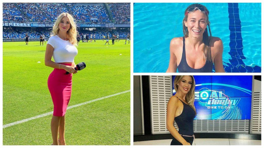 Горячая итальянская телеведущая, которую просили показать грудь, показала трюки с мячом