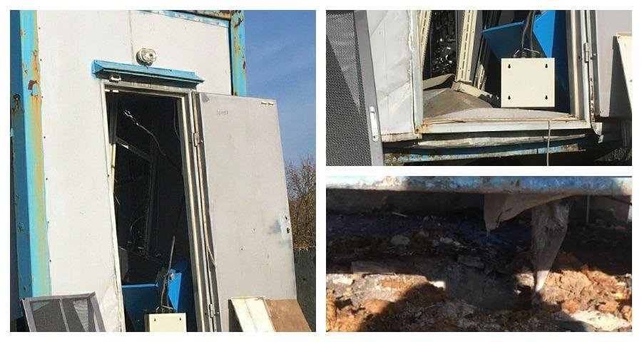 Диверсанты в Донецке взорвали вышку сотовой связи