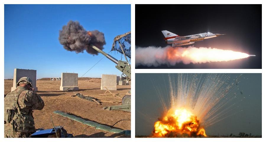 США уничтожили свою авиабазу в Сирии