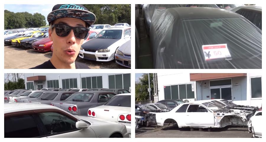 В Японии нашли склад где Nissan Skyline продают дешевле нового айфона