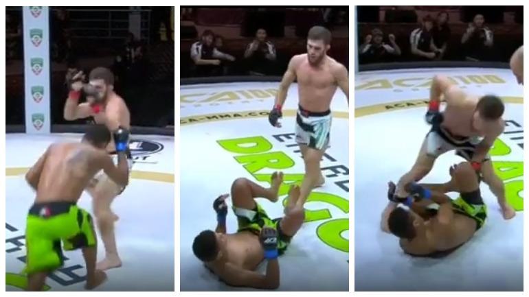 Чеченский боец UFC отказался добивать поверженного соперника