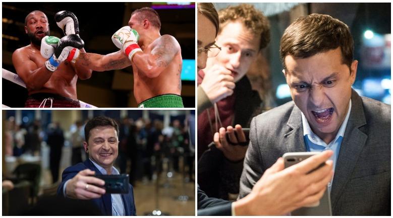 Владимир Зеленский поздравил боксера Усика с победой над Чэзом Уизерспуном