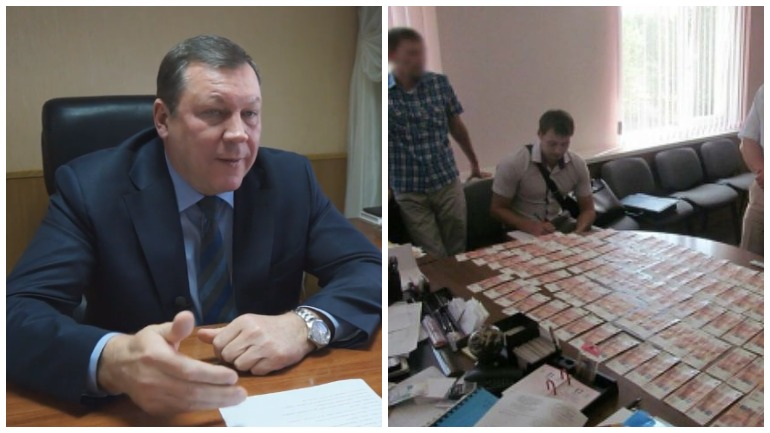 Глава Новочеркасска задержан за взятку в 2,6 миллиона рублей
