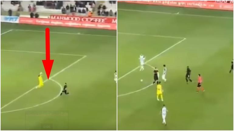 В Турции вратарь был удален с поля на 11-й секунде матча
