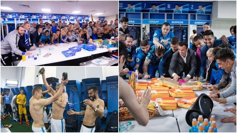 Журналисты узнали о питании российских футболистов «Зенита» после матчей