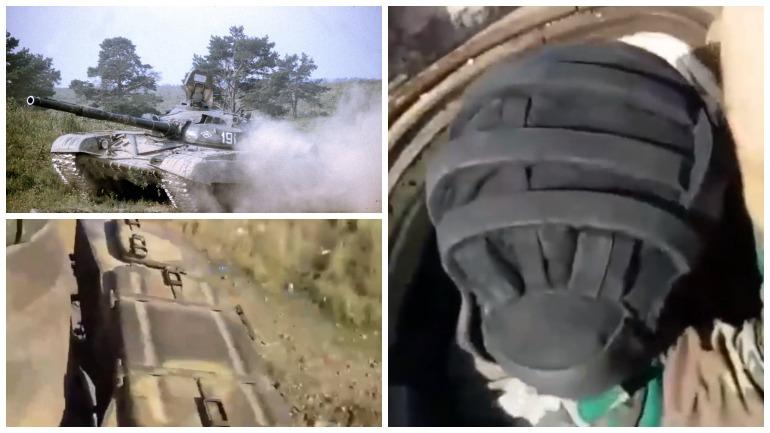 Сирийский танк Т-72 выдержал попадание противотанковой ракеты