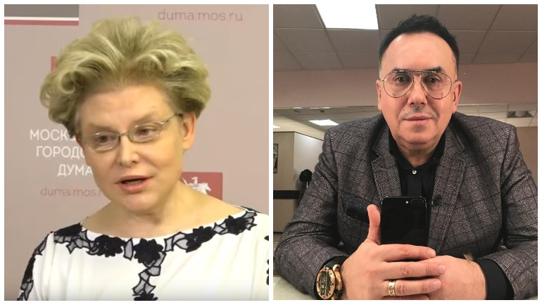 """Актер Садальский оскорбил Малышеву назвав ее """"дурой"""""""