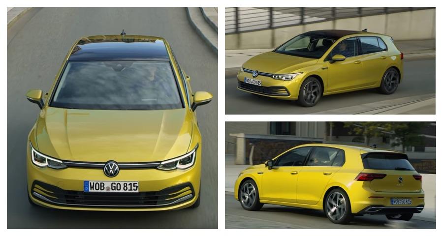 Миру представили Volkswagen Golf нового поколения