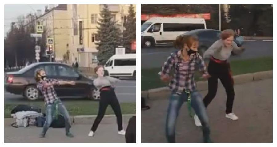 В Брянске подростки исполнили откровенный танец