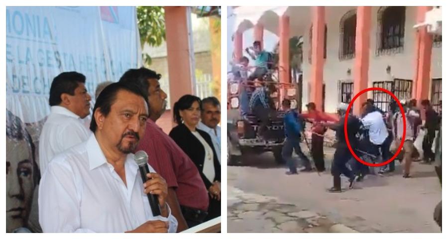 Мэра мексиканского города привязали к машине и протащили по улицам