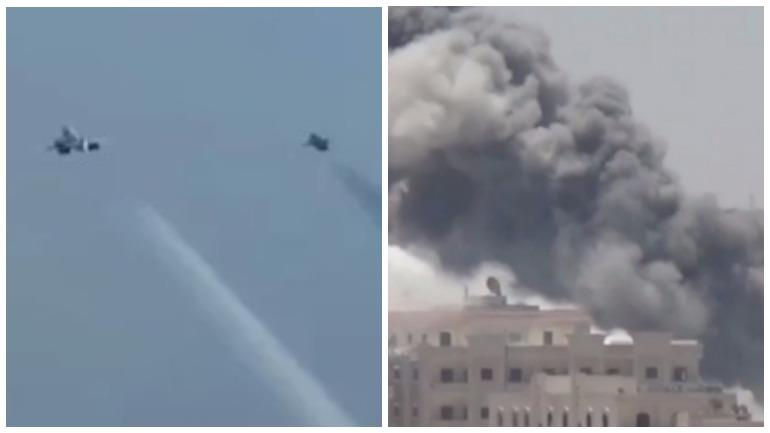 В Сирии американские военные разбомбили собственный склад