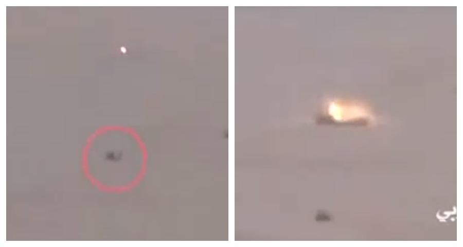 Сверхточный выстрел из РПГ-7 сняли на видео