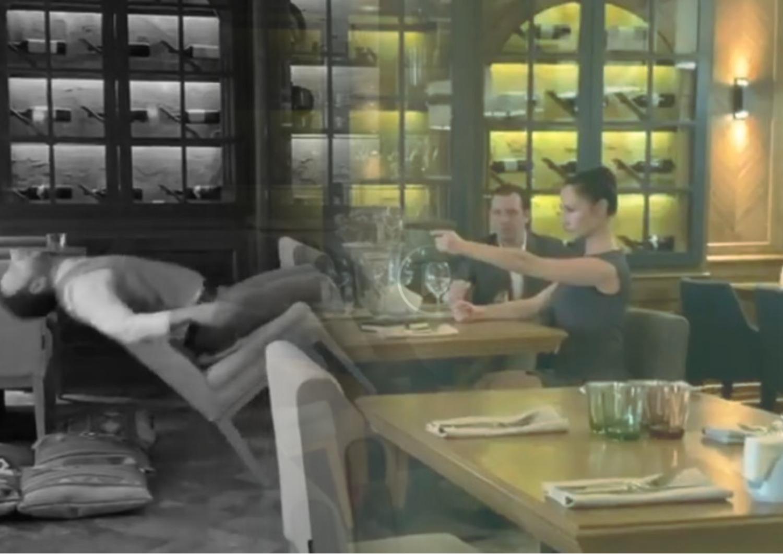 """В ресторане Серпухова женщина """"застрелила"""" мужчину"""