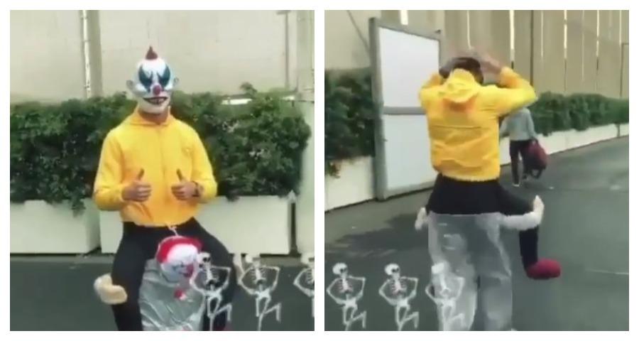 Роналду похвастался своим хэллоуинским нарядом