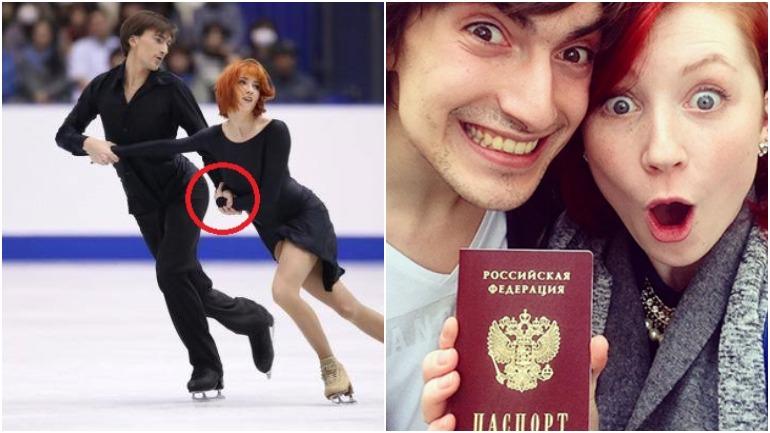Российских фигуристов оштрафовали из-за оторванной пуговицы