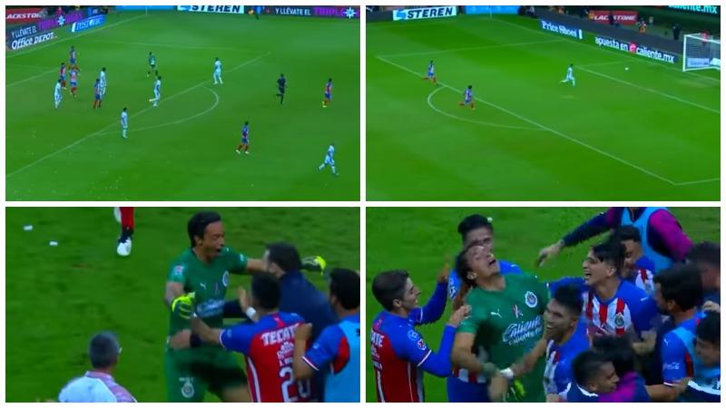 Мексиканский вратарь забил гол ударом через все поле