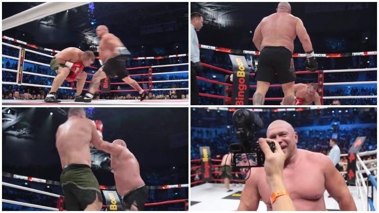 Максим Новоселов победил Александра Гончарова в бое с Москве