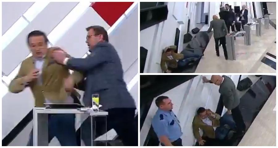 """Украинский политолог напал на американского эксперта в эфире передачи """"Кто против?"""""""