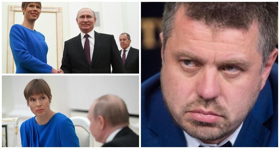 Президенту Эстонии посоветовали не отправляться на 9 мая в Москву