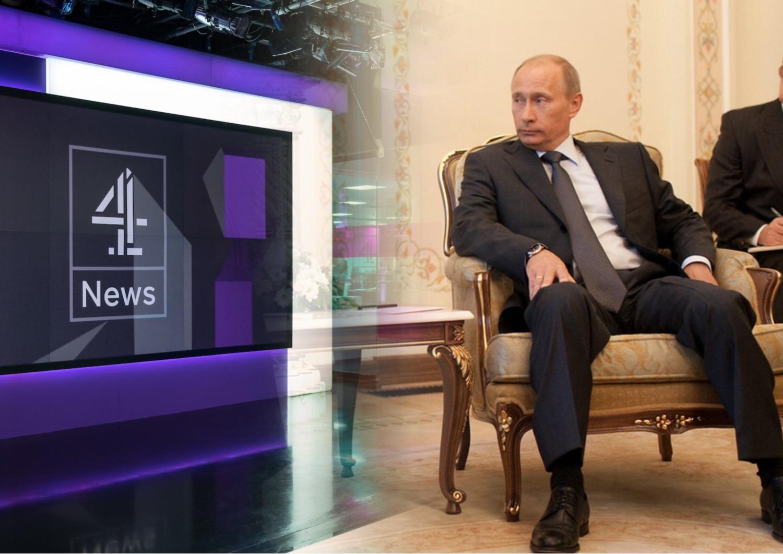 """Британский телеканал показал часовую передачу """"Мир глазами Владимира Путина"""""""