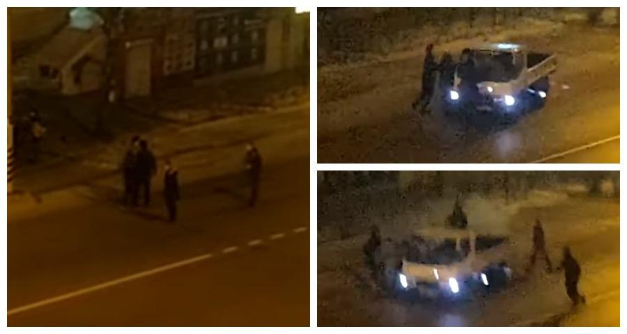 В Чите найдены хулиганы, забросавшие грузовик камнями
